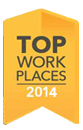 Top Work Places 2014